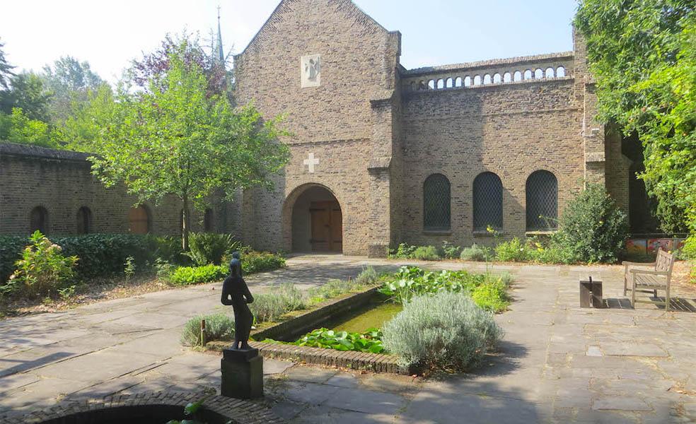 binnentuin Lioba klooster
