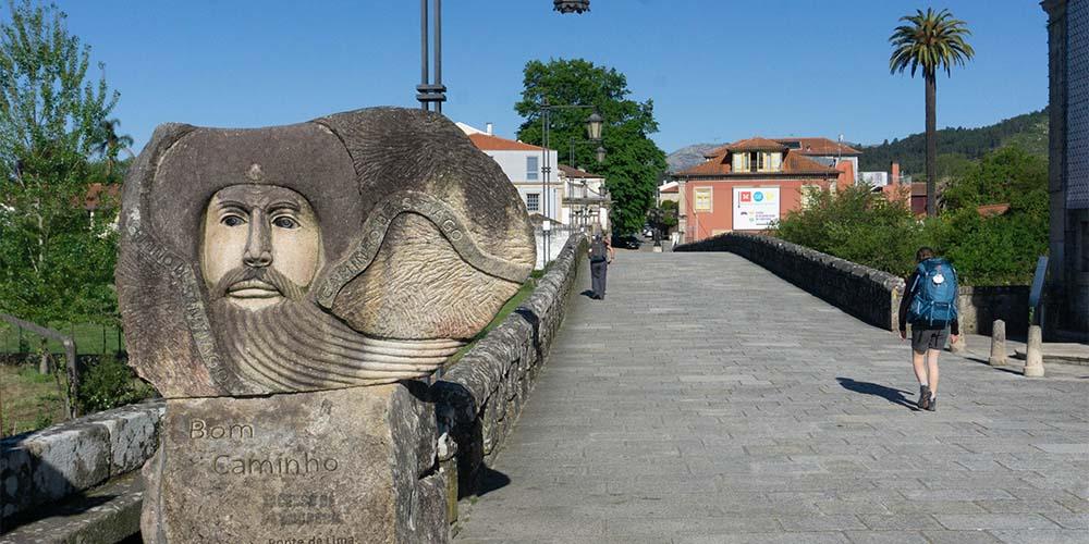 Pontevedra aan pelgrimsroute van Porto naar Santiago