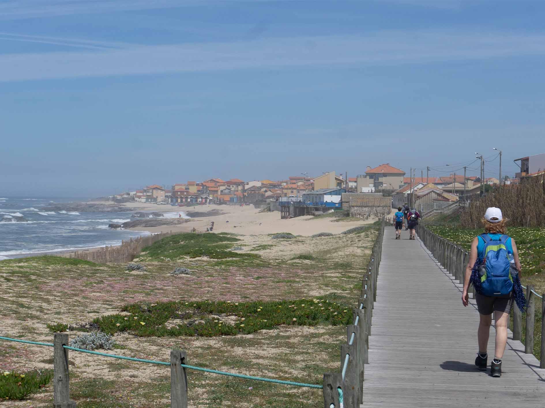 camino portugués langs de kust