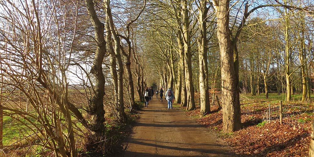 stilte wandeling en retraite klooster Slangenburg