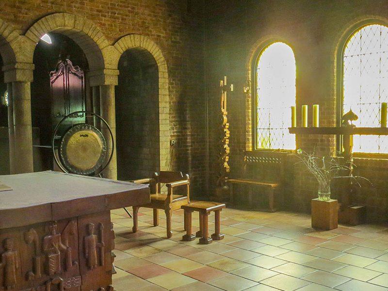 retraite in klooster Lioba Egmond