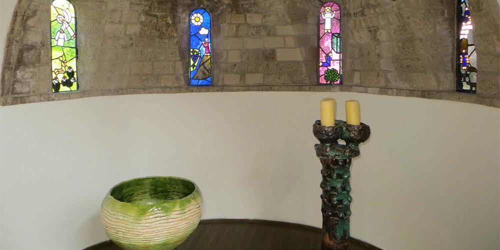 retraite in Lioba klooster kunst